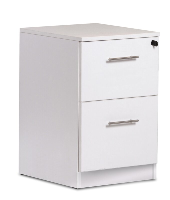 Haaken Furniture Pro X 2-Drawer Vertical Filing Cabinet & Reviews ...