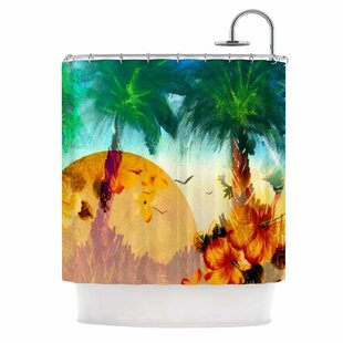 Paradise Patterns Single Shower Curtain