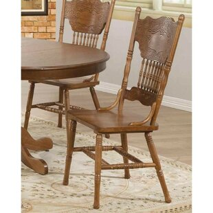 Washly Wooden Dining Chair (Set of 2) by August Grove