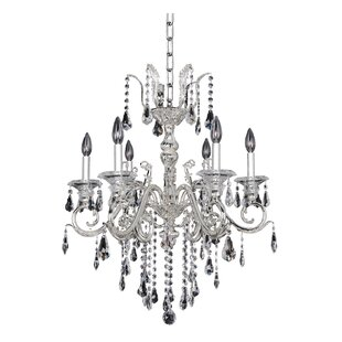 Allegri by Kalco Lighting Haydn 6-Light Candle Style Chandelier