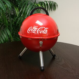 12 Coca Cola Mini BBQ Portable Charcoal Grill by Gibson