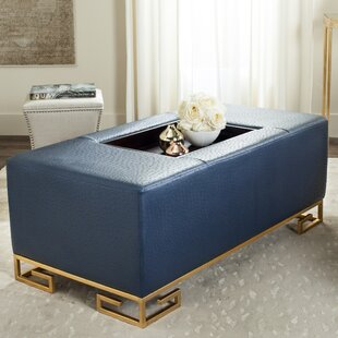 Bretagne Tray Storage Ottoman Willa Arlo Interiors
