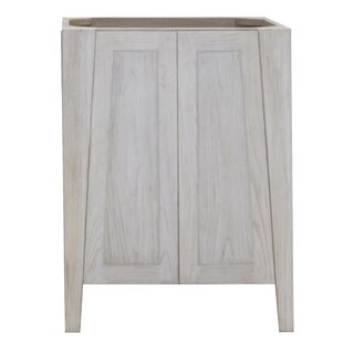 Significado Solid Teak 24 Single Bathroom Vanity Base by EcoDecors