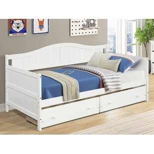 Twin Daybed with 2 Drawers by Sunside Sails