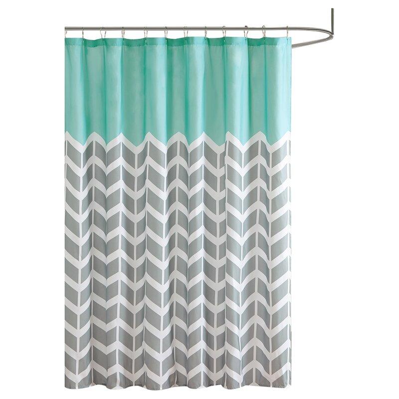 Zipcode Design Zakary Shower Curtain & Reviews | Wayfair