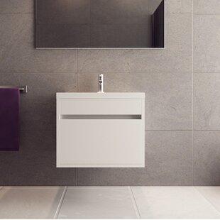 Margret 24 Wall-Mounted Single Bathroom Vanity Set By Orren Ellis