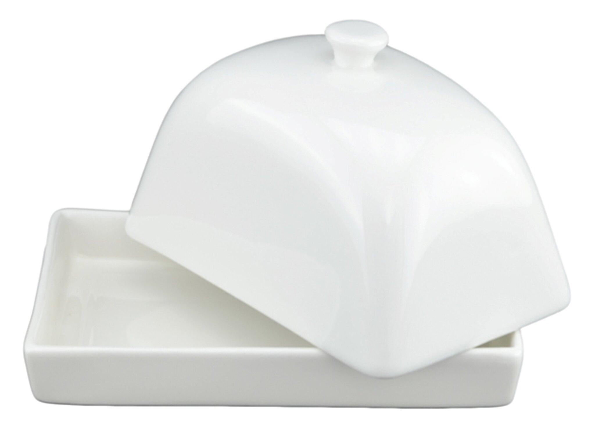 Tannex White Tie Butter Dish Reviews Wayfair