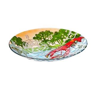 Evergreen Flag & Garden Crawfish Birdbath