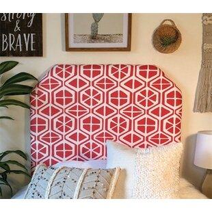 Find Houchin Beveled Twin/Twin XL Upholstered Panel Headboard by Zoomie Kids