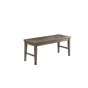 Union Rustic Burkhalter Pines Wood Bench