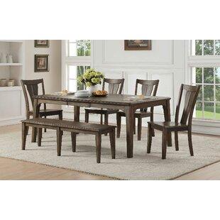Merveilleux Clintonville 6 Piece Extendable Solid Wood Dining Set