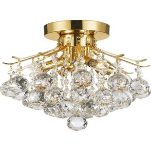 Mercer41 Dockery 4-Light Semi Flush Mount