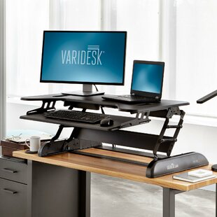 CubePlus Height Adjustable Standing Desk by VARIDESK