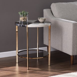End Table with Storage by Everly Quinn