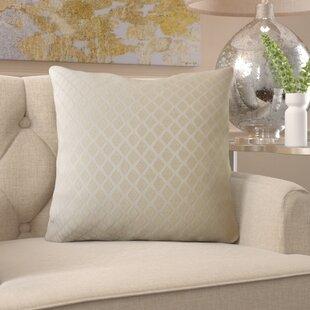 Burns Geometric Pillow