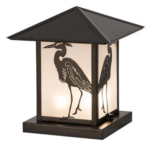Bayou Breeze Lambeth Heron 2-Light Pier Mount Light