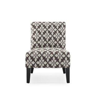Portland Slipper Chair by Charlton Home