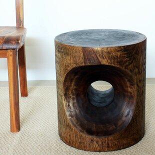 Bargain Mansour Peephole End Table ByWorld Menagerie