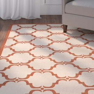 Herefordshire Beige/Red Indoor/Outdoor Area Rug