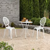 Outdoor Olivas 3 Piece Bistro Set