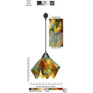 Jezebel Gallery Signature® Flame 1-Light Novelty Pendant