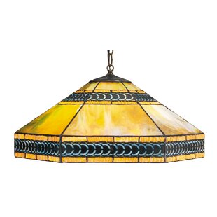 Meyda Tiffany Mission 3-Light Bowl Pendant