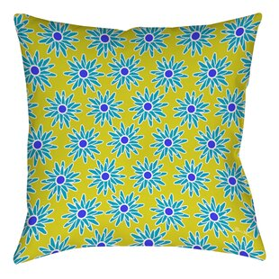 La Roque Summer Starburst Printed Throw Pillow
