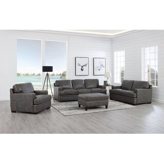 Werner 4 Piece Leather Living Room Set by 17 Stories SKU:EE393164 Price Compare
