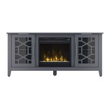 Jennings TV Stand for TVs up to 60 with Fireplace Included by Three Posts™