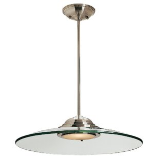 Orren Ellis Sutcliffe 1-Light Pendant
