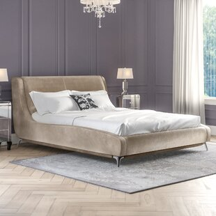 Upholstered Sleigh Bed By Canora Grey