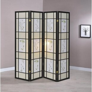 Mcgregor 4 Panel Room Divider by August Grove