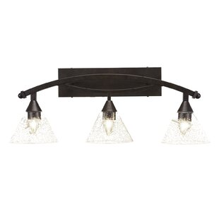 Red Barrel Studio Eisenhauer 3-Light Hardwired Vanity Light