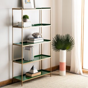 Silsbee 5 Tier Etagere Bookcase