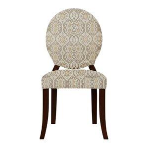 Lashley Damask Upholstered Side Chair (Se..