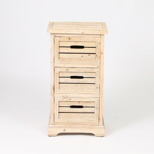 Sheryll Natural 3 Drawer Accen..