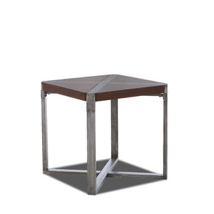Essexville End Table by Gracie Oaks