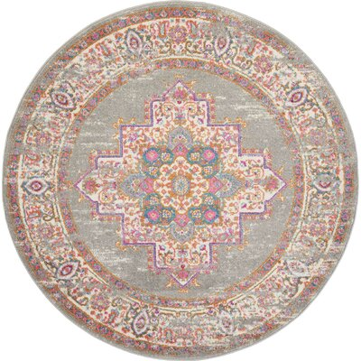 5 Amp 6 Gray Amp Silver Round Rugs You Ll Love In 2019 Wayfair