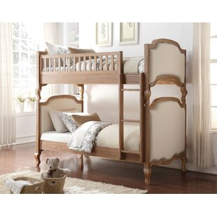 Abbeville Wooden Twin over Twin Bunk Bed