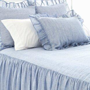 Pine Cone Hill Chambray Savannah Linen Bedspread