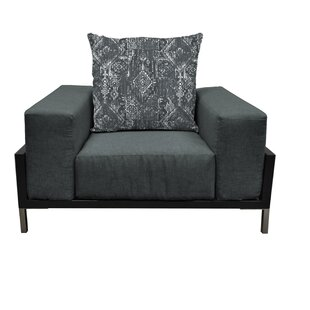 Tilly Deep Seated Amchair Chair With Cushions by Orren Ellis Great Reviews