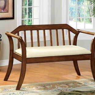Alcott Hill Allyson Padded Upholstered Bench