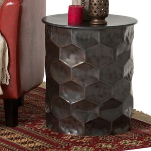 Compare & Buy Batt End Table by Ivy Bronx