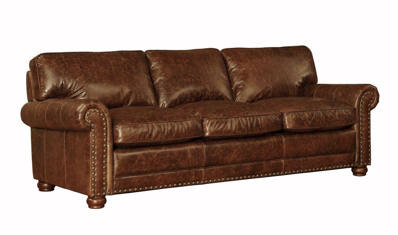 Lazzaro Leather Genesis Leather Sofa U0026 Reviews 100 Percent ...