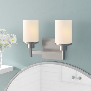Cusick 2-Light Vanity Light By Ebern Designs