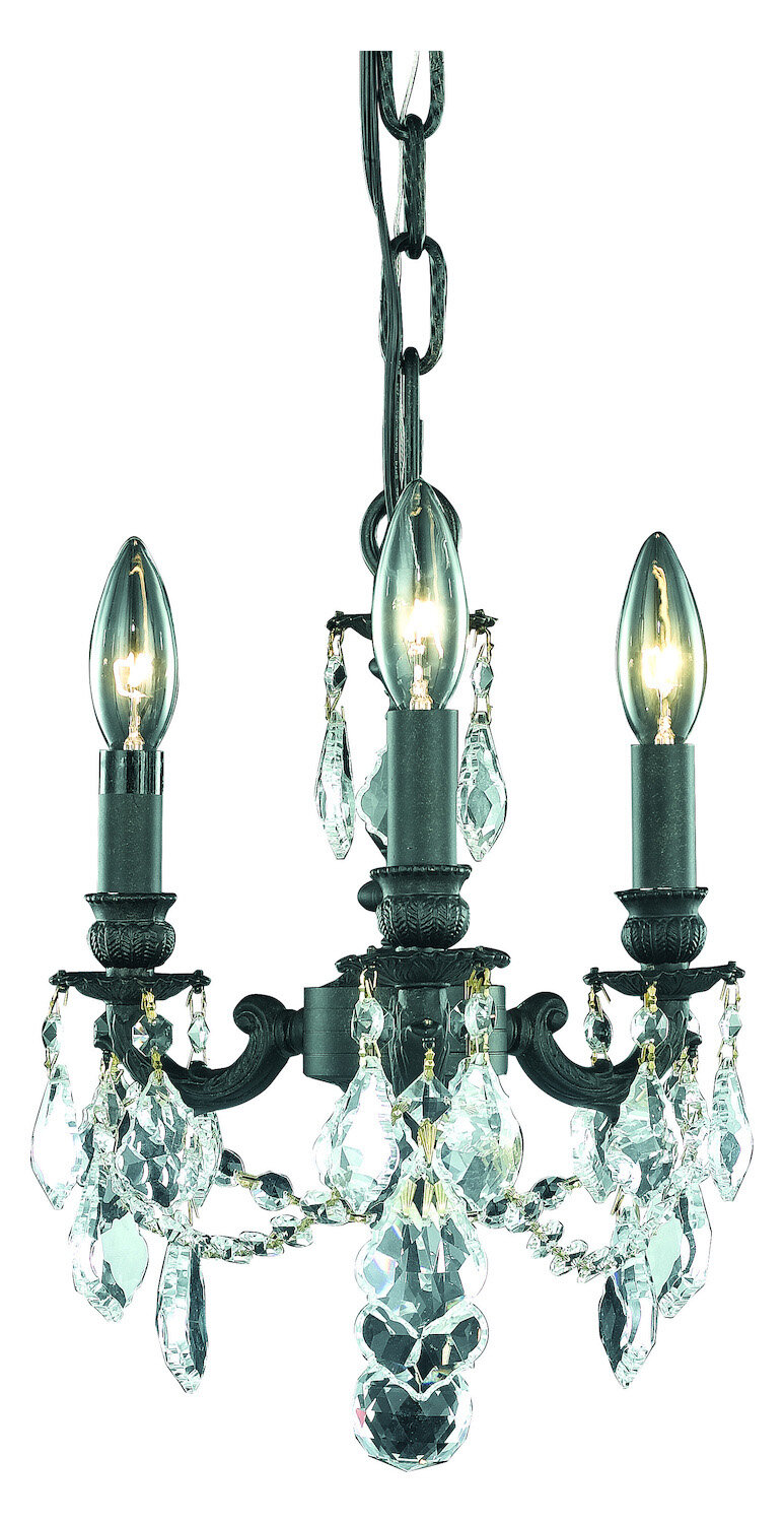 House Of Hampton Mallie 3 Light Candle Style Classic Traditional Chandelier Wayfair Ca