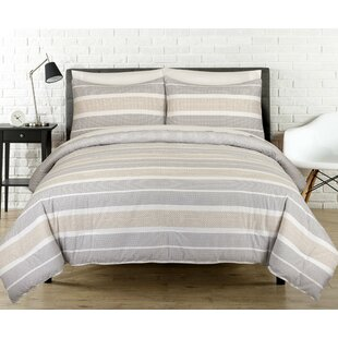 Stripe Reversible Comforter Set