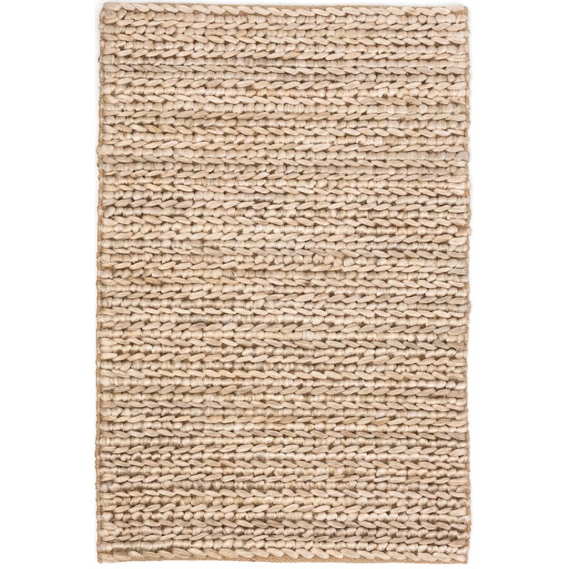 Dash And Albert Rugs Jute Woven Hand Braided Beige Area Rug Reviews Perigold