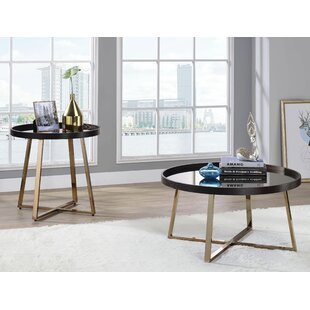 Strecker 2 Piece Coffee Table Set by Everly Quinn