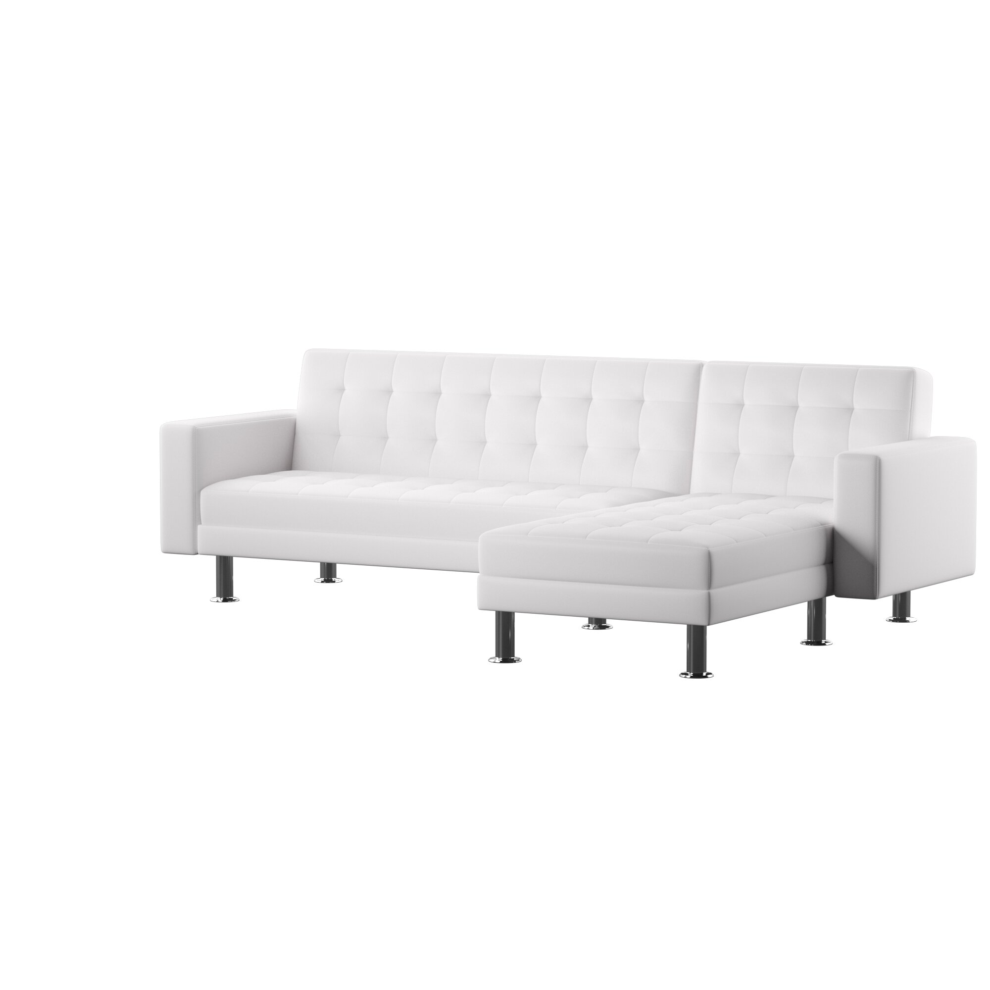 Nuttall Reversible Chaise Sleeper Sectional